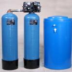 Suavizadores de agua duplex, uso continuo.