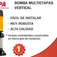 Bombas para agua verticales ALTAMIRA.