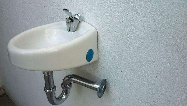 bebedero de agua para escuela